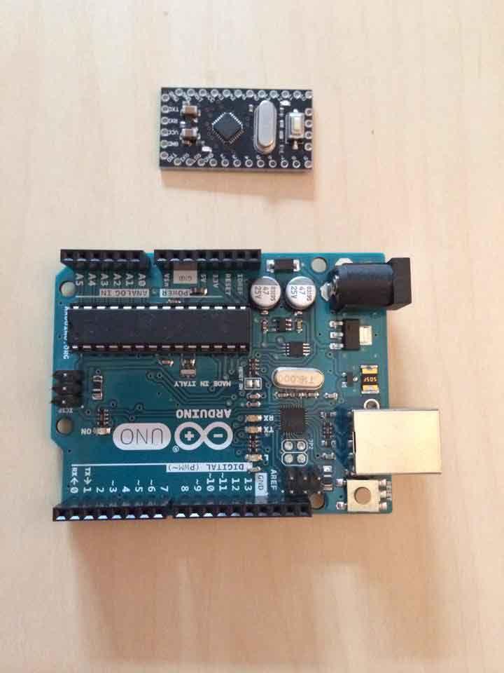 Arduino Pro Mini Kurcalamaca